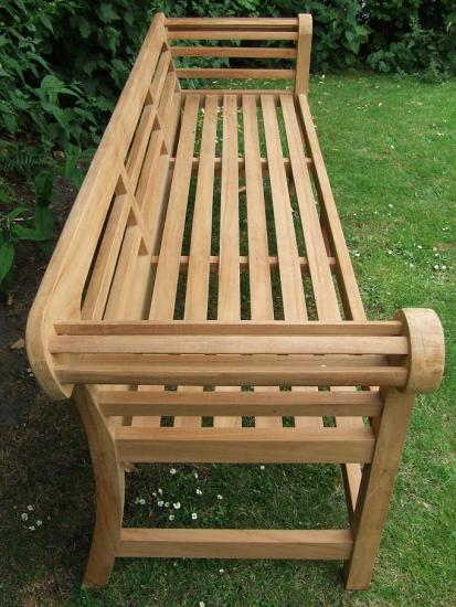 Low Back Lutyens Bench Side