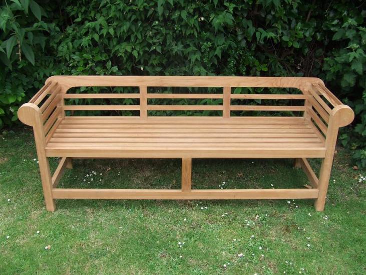 Low Back Lutyens Bench