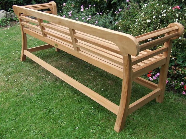 Low Back Lutyens Bench Rear