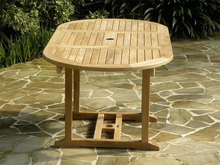 Tahiti Teak Extending Table