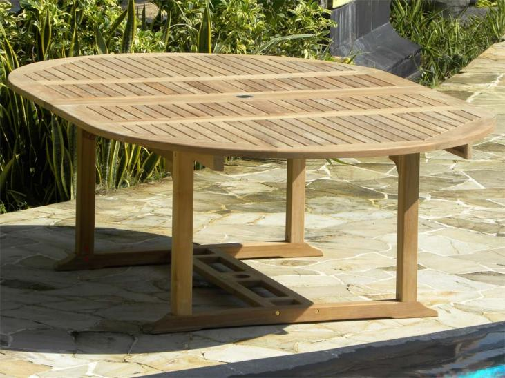 Aruba Table - Fully Open Position