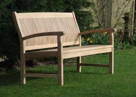 Teak Garden Bench - Trinidad