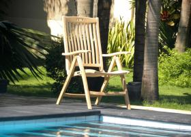 Teak Recliner Chair - Trinidad